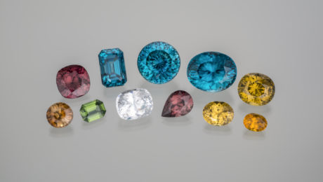 Zircon is one of the most amazing and sparkling gems found in nature