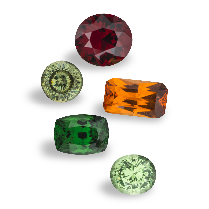 Group of garnet