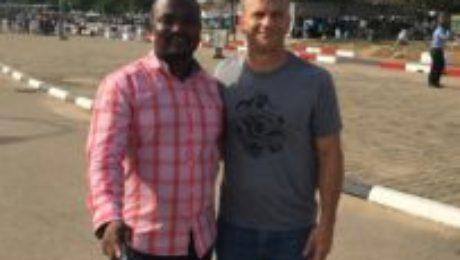 Arrival in Abuja, Nigeria's capital city