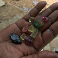 Fine rough Tourmaline of this quality is very rare.