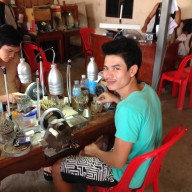 Our friends cutting facility in Pailin Cambodia