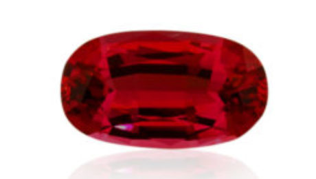 Red Spinel from Tanzania