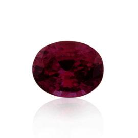 Fine quality unheated Sri Lankan Ruby, 3.52ct, val