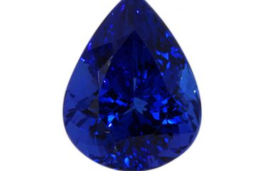 A Rare Rich Violet Blue Tanzanite