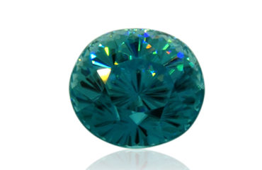 Fine Blue Zircon from Cambodia
