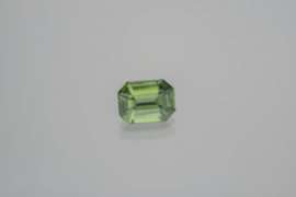 Green Zircon From Sri Lanka